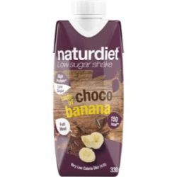 Naturdiet RTD Choco Banana - 330ml