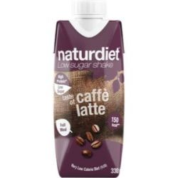 Naturdiet RTD Caffe Latte - 330ml