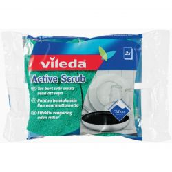 VILEDA ACTIVE SCRUB - 2-PACK
