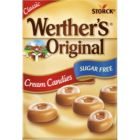 WERTHER'S ORIGINAL CREAM CANDIES SUGAR FREE - 42G