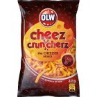 OLW Ostbågar Flamin Hot Cheez Cruncherz - 225 gram