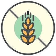 Glutenfria artiklar som vi kan erbjuda